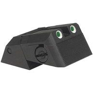 Kensight DAS 1911 Defense Adjustable Rear Sight Tritium insert - Night Sights Serrated Blade