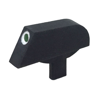 "Stake-on Ramp front sight for Colt® M1911/A1 Series '70, 0.056"" tenon, green tritium insert w/white outline"