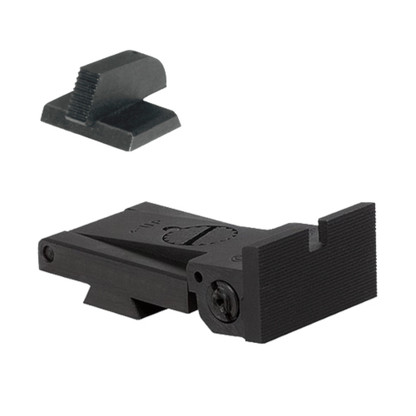 "BoMar BMCS 1911 Kensight Sight Set Deep Notch Square Blade - Serrated 0.210"" Front Sights (960-022)"