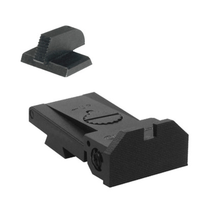 "BoMar BMCS 1911 Kensight Sight Deep Notch Beveled Blade - Serrated 0.210"" Front Sights (960-023)"