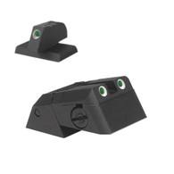 """Kensight DAS 1911 Defense Adjustable Rear Sight Set Tritium insert - Night Sights Serrated Blade - 0.230"""" Front Sight (960-636)"""
