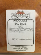 Andouille Sausage Seasoning 14.25 oz for 25 lbs.