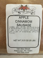 Apple Cinnamon Sausage Seasoning 10.5 oz. for 25 lbs.