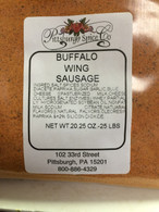 Buffalo Wing Sausage Seasoning w/Blue Cheese  20 oz.for 25 lbs.