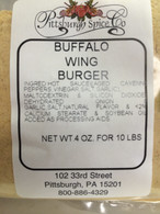 Buffalo Wing Hamburger Seasoning 4 oz. pkg.