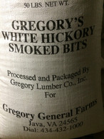 Hickory Smoke Bits  Col. Gregory Farms