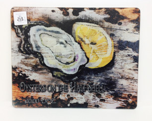 Oyster Square Cutting Board