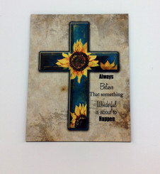 Sunflower Cross Board