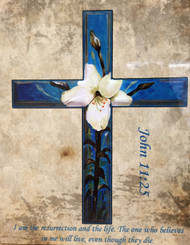 Easter Lily Cross