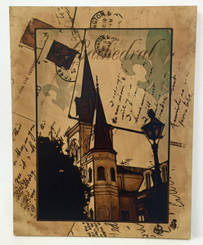 St. Louis Cathedral on Maple Wood