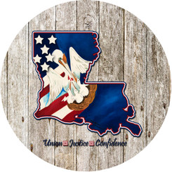 AMERICAN LOUISIANA PROUD cutting board