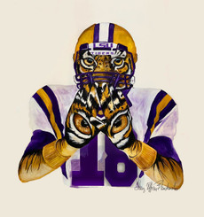PLAY LIKE A TIGER_LSU 16X18