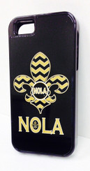 NOLA Chevron Iphone Cover