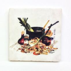 Bon Appetit Shrimp Coaster Set
