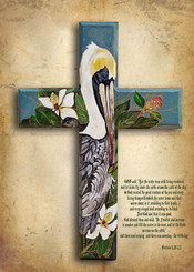 Pelican Cross Print 12x16