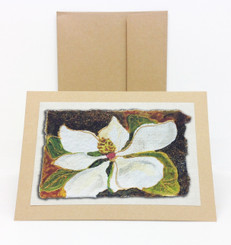 Magnolia Notecard by Stacey