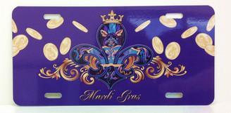 Mardi Gras License Plate