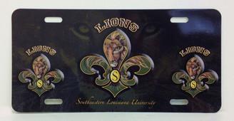 Southeastern Fleur de Lis License Plate