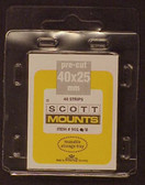 40 x 25 mm Scott Pre-Cut Mounts  (Scott 901 B/C)