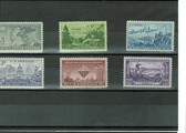 United States 1951 Commemorative Year Set, Scott Cat. Nos. 0998 - 1003, MNH