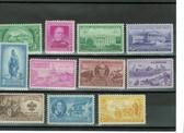 United States 1950 Commemorative Year Set, Scott Cat. Nos. 0987 - 0997, MNH