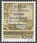 Faroe Islands, Scott Cat No. 069, MNH