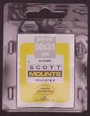 50 x 31 mm Scott Pre-Cut Mounts (Scott 907 B/C).