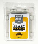 25 x 41 mm Scott Pre-Cut Mounts  (Scott 1046 B/C)