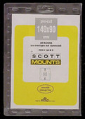 140 x 90 mm Scott Pre-Cut Mounts (Scott 918 B/C)