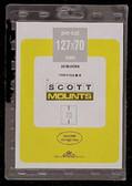 127 x 70 mm Scott Pre-Cut Plate Block Mounts (Scott 916 B/C)