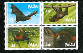 Palau, Scott Cat. No. 122-125 (Set), MNH