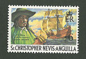 St. Kitts, Nevis & Anguilla Scott Cat. No. 212, MNH