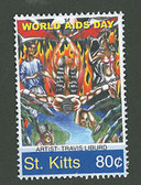 St. Kitts, Scott Cat. No. 604 , MNH