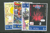 St. Kitts, Scott Cat. No. 603-606 (Set) , MNH