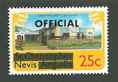 Nevis, Scott Cat. No. 0002, MNH