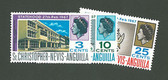 St. Kitts, Nevis & Anguilla Scott Cat. No. 430-433 (Set), MNH