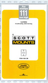 111 x 265 mm Scott Mount (Scott 956 B/C)
