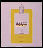 231 x 265 mm Scott Mount (Scott 961 B/C)