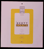 Scott Mounts Souvenir Sheets/Small Panes -  190 x 199 mm (1000 B/C)