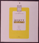Scott Mounts Souvenir Sheets/Small Panes -  275 x 200 mm (1010 B/C)