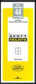 44 x 215 mm Scott Mount (Scott 932 B/C)