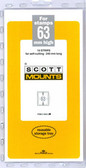 63 x 240 mm Scott Mount (Scott 939 B/C)