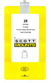 Scott Mounts Souvenir Sheets/Small Panes -   28 x 290 mm (1044 B/C)