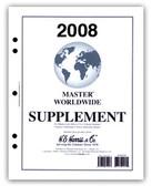 2008 H. E. Harris Worldwide Album Supplement