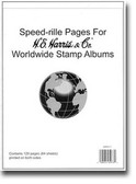 Harris Speed-rille Pages for Harris Worldwide Albums
