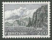 Faroe Islands, Scott Cat No. 015, MNH