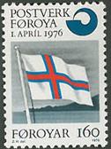 Faroe Islands, Scott Cat No. 022, MNH