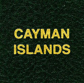 Scott Cayman Islands Specialty Binder Label