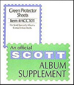 Green Protector Sheets for Scott 2-Post Specialty Binders (ACC101)