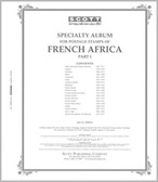 Scott French Africa Stamp Album Pages, 1886 - 1977 Afars - Ivory Coast